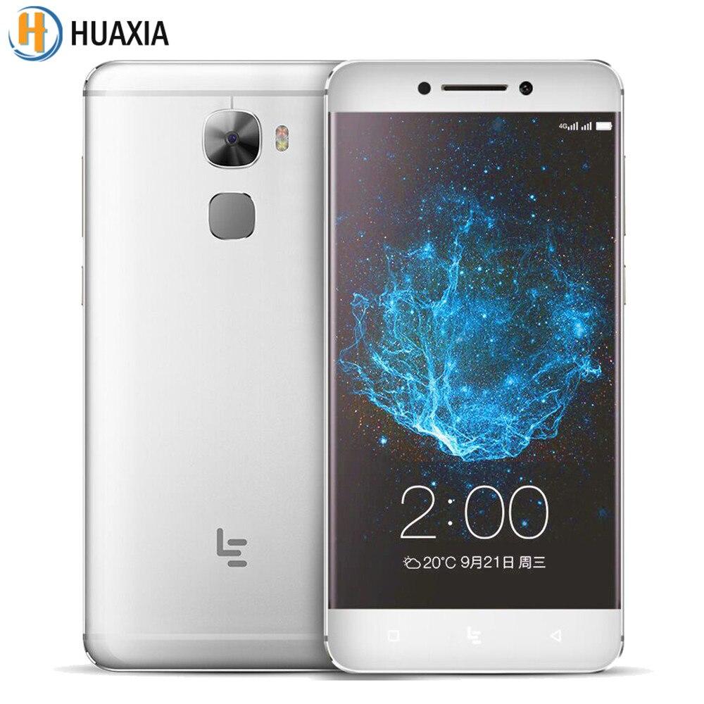 "Цена за Оригинал letv le 3 pro leeco le pro 3 elite 4 г сотовый телефон snapdragon 820 quad core 5.5 ""6 ГБ RAM 64 ГБ ROM Android 6.0 Отпечатков Пальцев"
