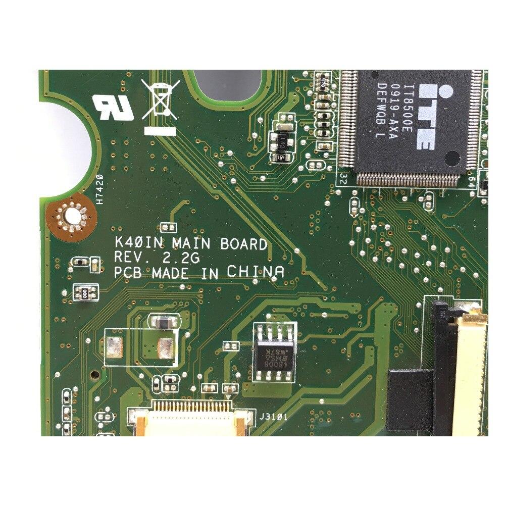 Kefu k40in k50in placa-mãe para asus x8ain,