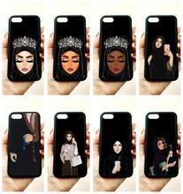 Мусульманское исламское гриль Глаза Мягкий силиконовый край мобильного телефона Чехлы для Apple IPhone X 5S SE 6 6s плюс 7 7 plus 8 8 плюс XR XS MAX случае