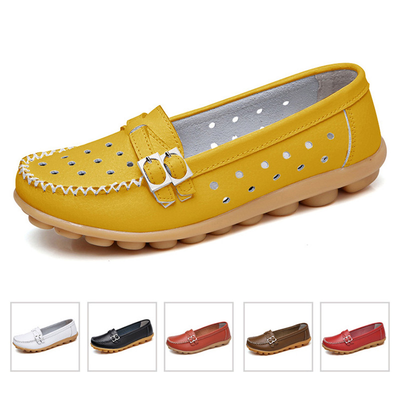 New Women Flats Women Shoes Genuine Leather Shoes Ballet Flats Mother Slip On Ballerina Flats Women Loafers Moccasins FemaleNew Women Flats Women Shoes Genuine Leather Shoes Ballet Flats Mother Slip On Ballerina Flats Women Loafers Moccasins Female