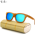 RTBOFY 2017 New Fashion Products Men Women Glass Wood Polarized Sunglasses Retro Wood Lens Wooden Frame Handmade..2140
