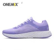 ONEMIX женская обувь для бега для женщин спортивные кроссовки Фитнес Бег девушка жаккард вамп E-TPU Технология высокая эластичная подошва