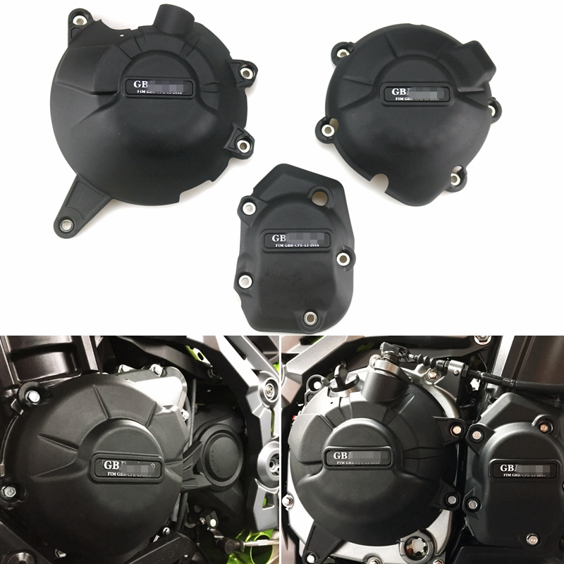 Motorcycles Engine cover Protection case for case GB Racing For KAWASAKI Z900 2017 2018 2019 Engine Covers Protectors|Engine Bonnet| |  -