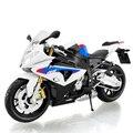 S1000RR azul motocicleta modelo escala 1:12 modelos de Aleación de Juguete modelo de la motocicleta de carreras Para la Colección de Regalos