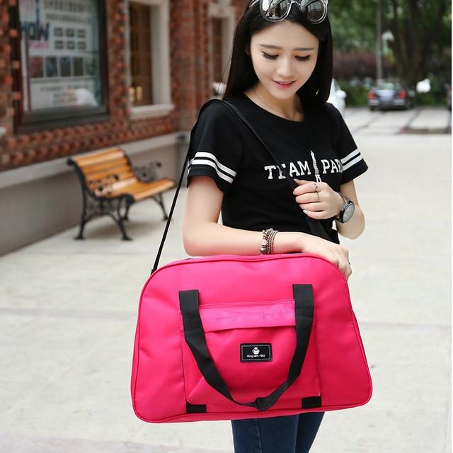 2016 Моды портативный плечо сумку случайно дорожная сумка багаж вещевой Водонепроницаемый Путешествовать Сумка мужчин и женщин PT1133