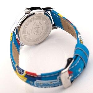 Оригинальные детские милые Мультяшные часы с Микки Маусом для мальчиков и девочек; Модные Повседневные детские часы с надписью «Happy Disney» для школьников