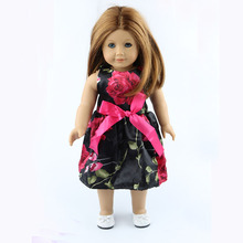 18 inch American girl dolls clothes manually white wedding dresses children Christmas gift free shipping W20