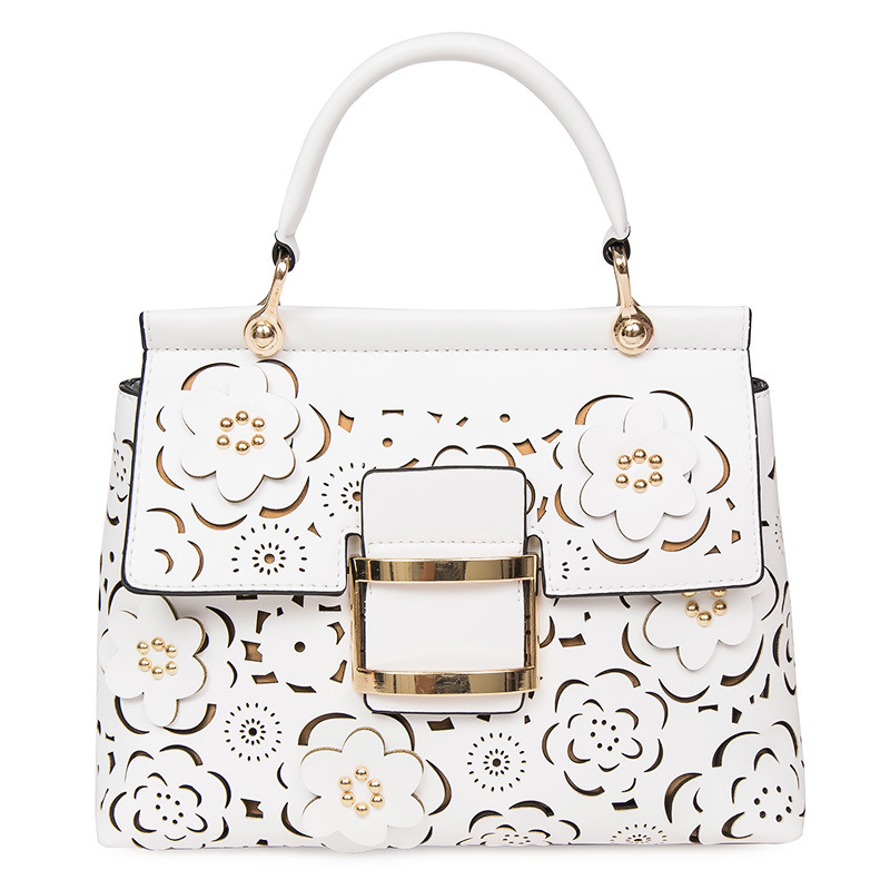 Designer Hollow Out Flowers Bag Women Shoulder s Famous Brand Quilted  Luxury Handbags