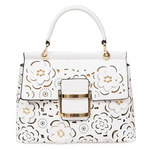 Designer Hollow Out Flowers Bag Women Shoulder s Famous Brand Quilted  Luxury Handbags  s