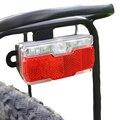 Onature ebike светильник с задним входом 12 в 24 в 36 в 48 в 60 в светодиодный Электрический свет для велосипеда светильник с хвостом установка на стойк...