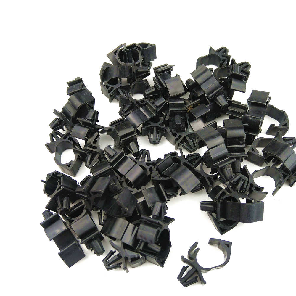 hight resolution of 10pcs high quality car wiring harness fastener for all car auto route fixed clips corrugated pipe