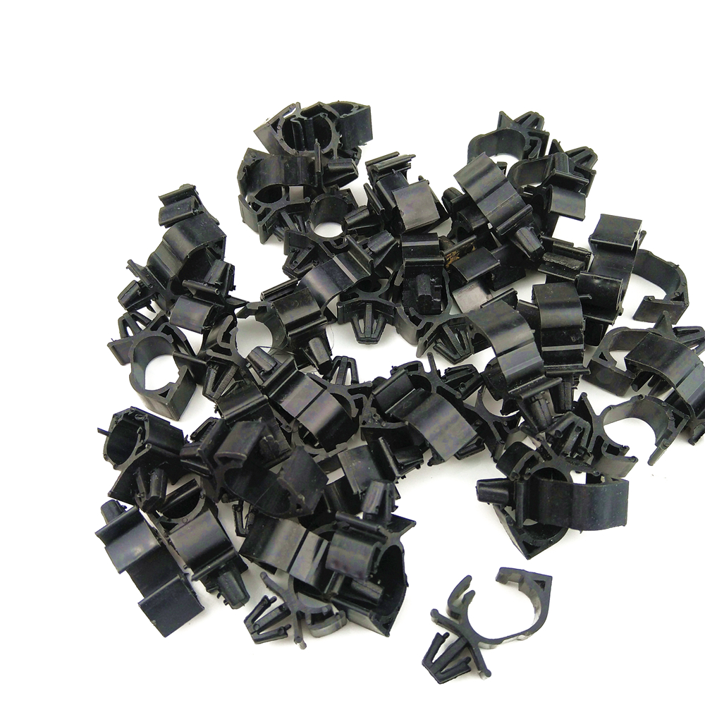 10PCS High quality Car Wiring Harness Fastener for All Car Auto Route Fixed Clips Corrugated Pipe Tie Wrap Cable clamp