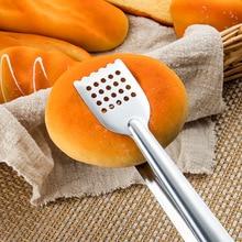 1 шт., практичные зажимы для еды и барбекю, кухонные инструменты, щипцы из нержавеющей стали, буфет, зажимы для приготовления салата, хлеба, гребешка, кухонные аксессуары