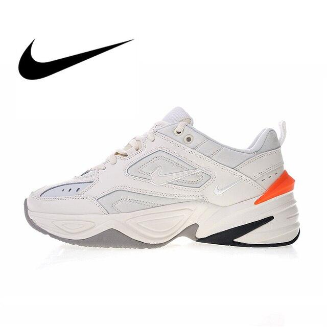 super popular 2aa87 49298 Auténtico Nike M2K Tekno respirables de los hombres de zapatos bajos zapatos  diseñador marca Atlético deportes