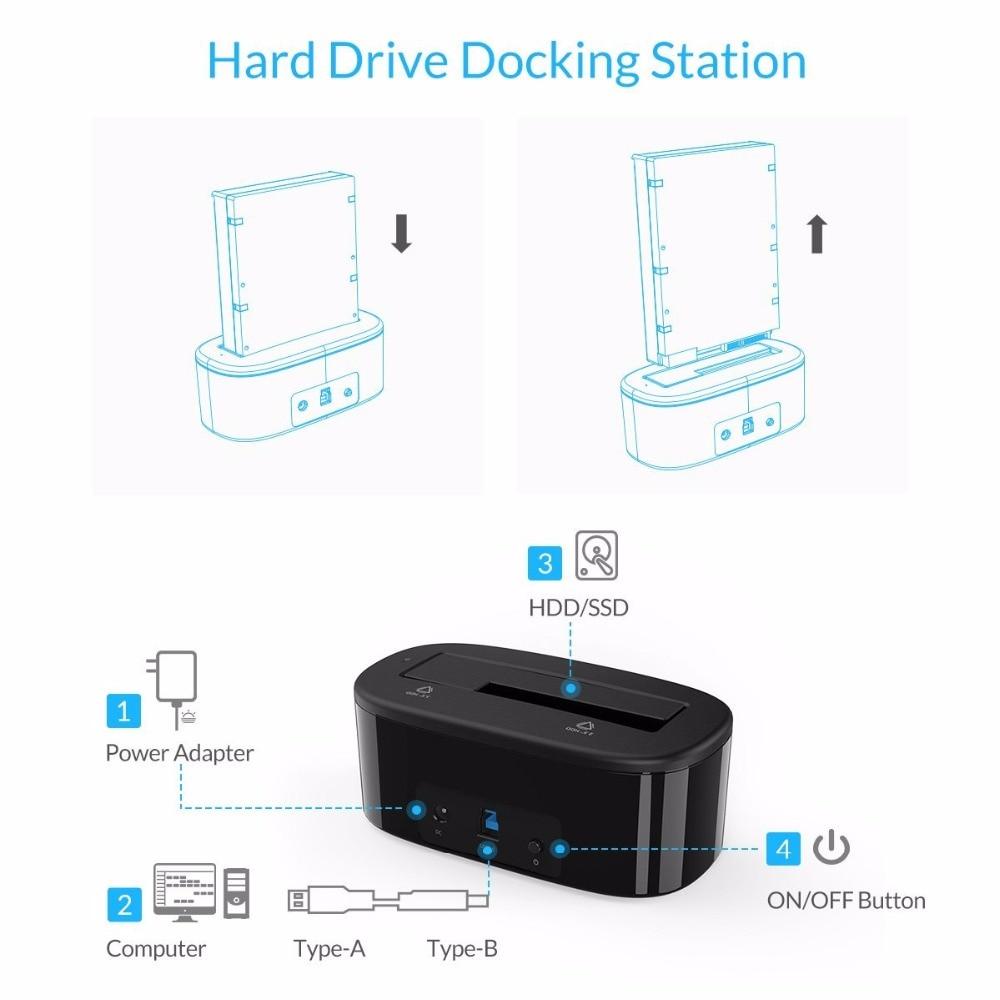 ORICO USB 3.0- ից SATA Արտաքին կոշտ սկավառակի - Արտաքին պահեստավորման սարքեր - Լուսանկար 4