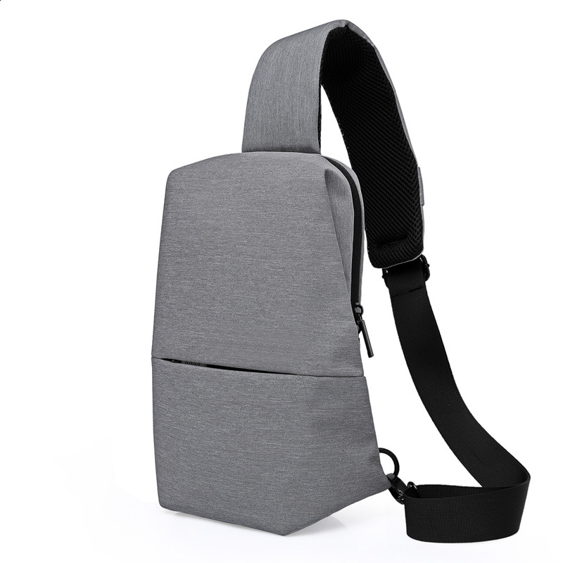 Crossbody Bag Men Chest Bag Day Pack Travel fashion Male Messenger Shoulder Urban Leisure Sports Chest Pack Bags Men Women Small in Waist Packs from Luggage Bags