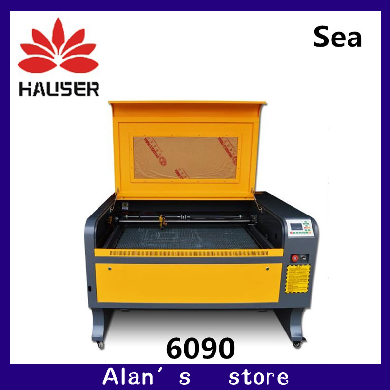 Russia Free Shipping HCZ DSP 100W Laser Engraving Machine 6090 Laser Cutter Machine CO2 Laser CNC Cutting Machine USB Interface