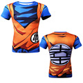 New Popular The Dragon Ball Z Mens Short Sleeve T-Shirt To Beat Goku Fashion Fitness Crossfit Tops Camiseta Clothing
