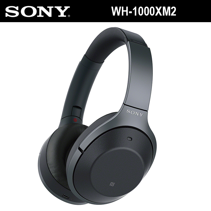 SONY WH-1000XM2 Antibruit Sans Fil Bluetooth Casque de Haute Qualité Audio Mains Libres Appel Fold Casque Portable Cas NFC