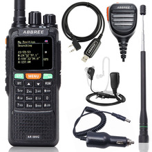 Repeater Communicator Walkie-Talkie Cross-Band ABBREE Two-Way-Radio AR-889G Long-Range