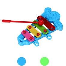 Для маленьких детей; 4-Примечание музыкальные игрушки Развитие знаний Музыкальные инструменты для детей brinquedos барабан 15