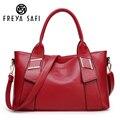 Safi Freya Mulheres bag ladies PU bag mulheres messenger bags bolsas mulheres marcas famosas bolsa de ombro grande capacidade