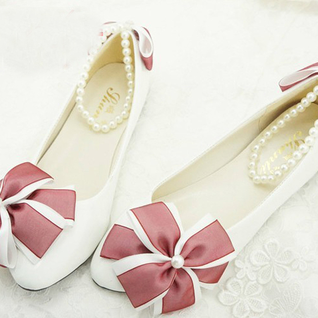 Free Shipping Fashion Lady Dress Shoes Flower Girl Shoes Bridal Wedding Dress Shoes Office lady comfortable Shoes