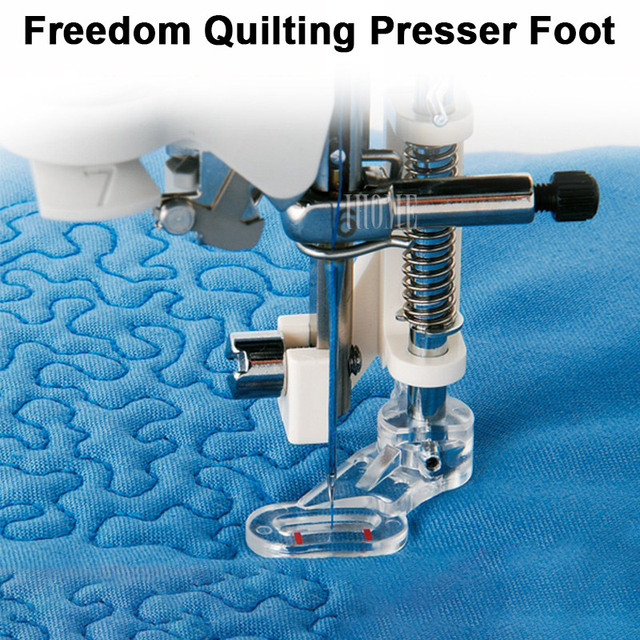 Freedom Quilting Embroidery Presser Foot Flower Stitch Domestic Mesmerizing Is My Sewing Machine Low Shank