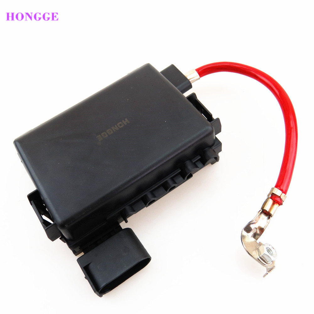 hight resolution of hongge new battery fuse box for vw golf mk4 jetta bora mk4 beetle seat leon toledo octavia a3 s3 1j0937617d 1j0 937 617 d in fuses from automobiles