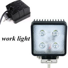 high quality 2x40W 4.5 inch LED light lamp square SPOT BEAM  off road 4X4 Truck Tractor boat SUV ATV  LED work light