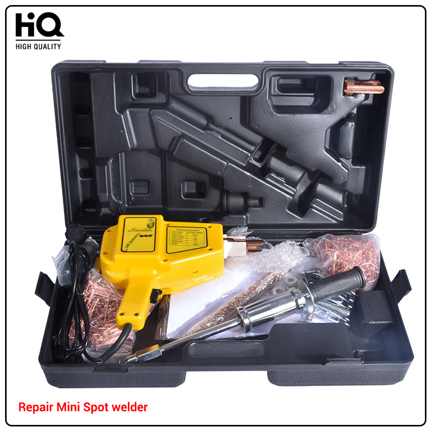 купить Mini Spot Welder Repair Dent Repair Puller kit Car Tools Hunter Stud Welder Body Recess Repair Spot Welder Gun Welding Machine по цене 15353.16 рублей