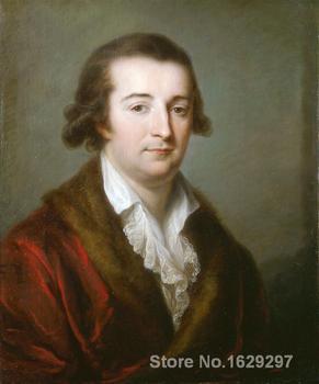 Portrait of Herzogs von Ceri by Angelica Kauffman famous portrait artist High quality Hand painted