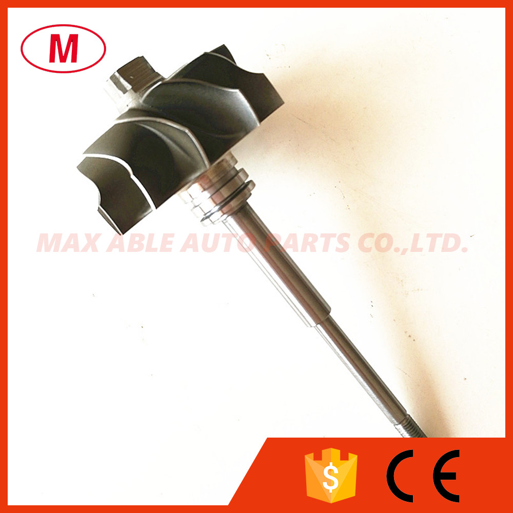 TD04L 49177 30300 Turbocharger Turbine Shaft Wheel Turbo Turbine Wheel Shaft 41 2 47 2mm 11