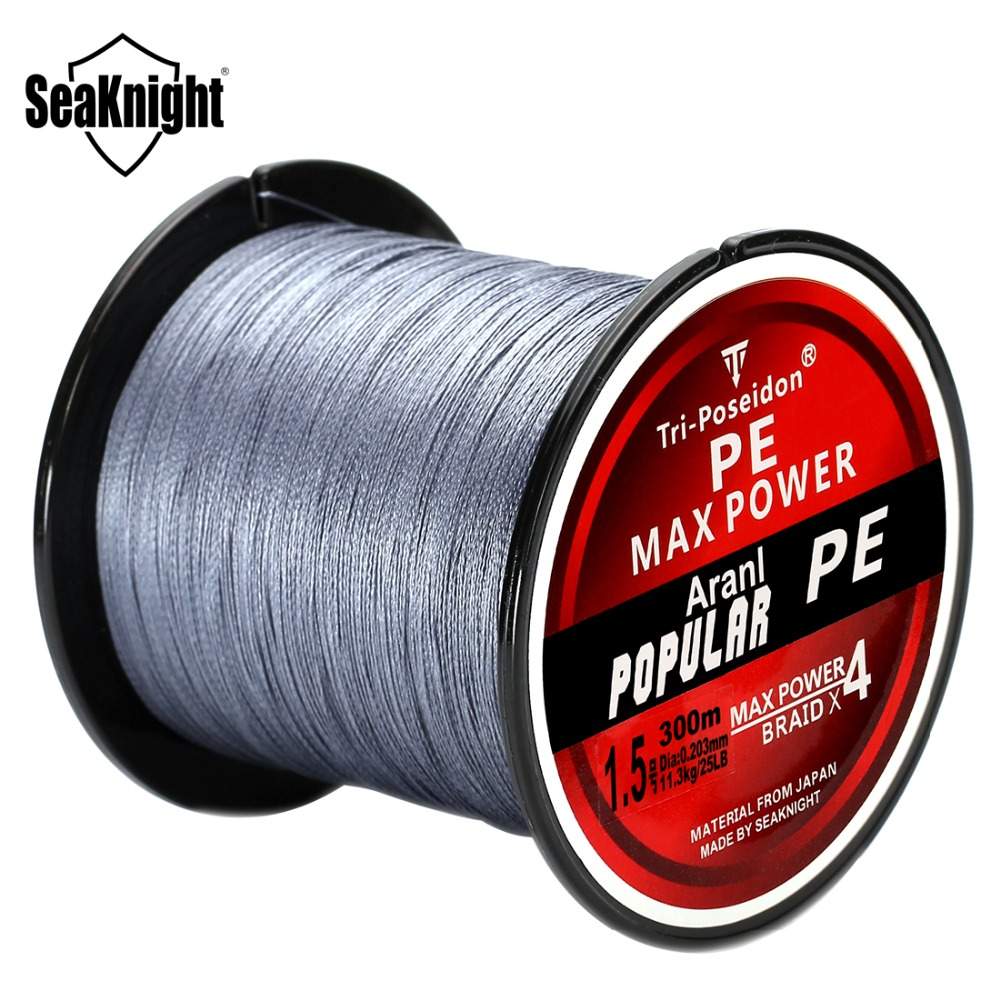 Buy seaknight tri poseidon series 300m 8 for Best braided fishing line saltwater