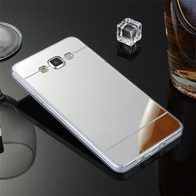 Luxury Fashion Mirror Gold Back Cover Case For Samsung Galaxy S3 GT-i9300 S3 Neo GTi9301i I9300RWI Fahion Bling TPU Coque Shell