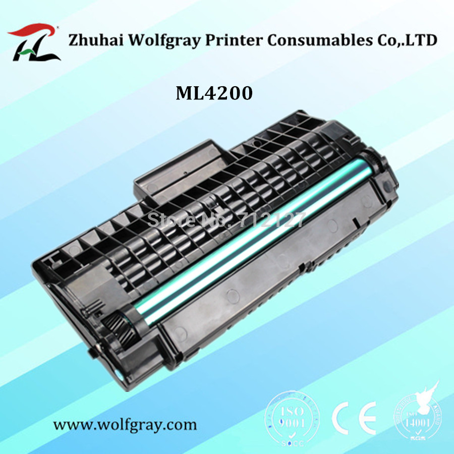 YI LE CAI 1PK Compatible laser toner cartridge ML-4200 ml4200 for samsung SCX-4200 scx4200 SCX-4300 scx4300 printer цена