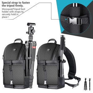Image 5 - Neewer Professional Sling Camera Storage Bag Durable Waterproof and Tear Proof Black Carrying Backpack Case for DSLR Camera