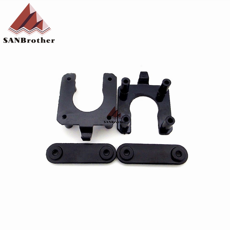 1 Set 3D Printer Accessories DIY UM2 Ultimaker2 Motor Spacer Z shaft Cap Bottom kit Injection
