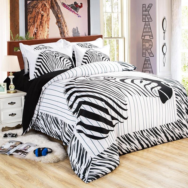 Online Buy Wholesale zebra twin bedding from China zebra ...