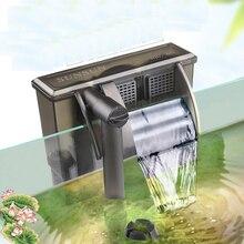 SUNSUN водопад фильтр Внешний Аквариум Фильтр аэрации аквариум небольшой цилиндр специальный настенный фильтр