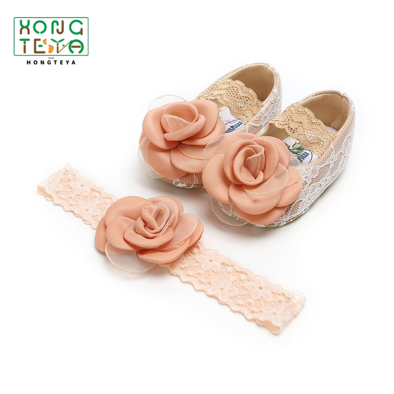 Baby Girls First Polka Soft Toddler Flower Sweet Shoes Warm Crib Walker Antiskid Rapid Heat Dissipation Baby Shoes