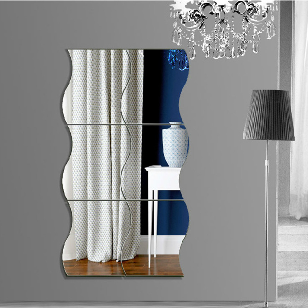 Achetez en gros vague miroir mural en ligne des for Miroir en ligne pour se voir