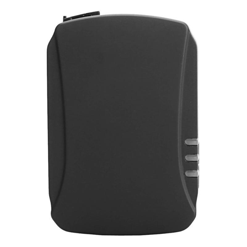 Traqueur de GPS de véhicule de réseau 3G longue durée de veille traqueur personnel d'animal familier de soutien de carte SIM GPRS Internet (ue)