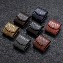 PU Leather Case For Airpods Cover Cases For Air Pods Bluetooth Earpods Earphone