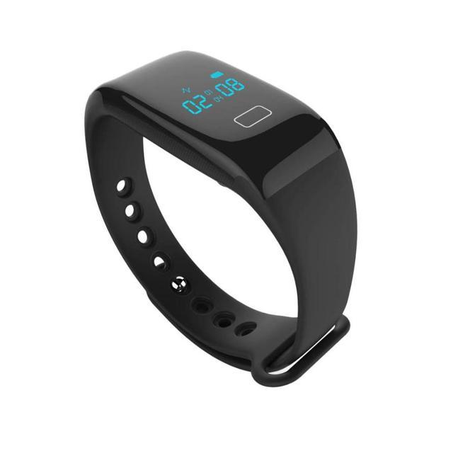 Hábil 2016 Nuevo Bluetooth Elegante Reloj de Pulsera Heartrate Sync Teléfono Mate Para IOS Android May27U