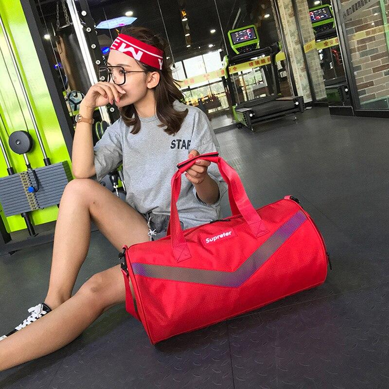 Нейлоновая Повседневная дорожная сумка роскошная женская спортивная сумка для девочек Мужская универсальная сумка тоут нейлоновая больша