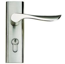 Wholesale- Zinc Alloy Lever Handle door lock Free Shipping