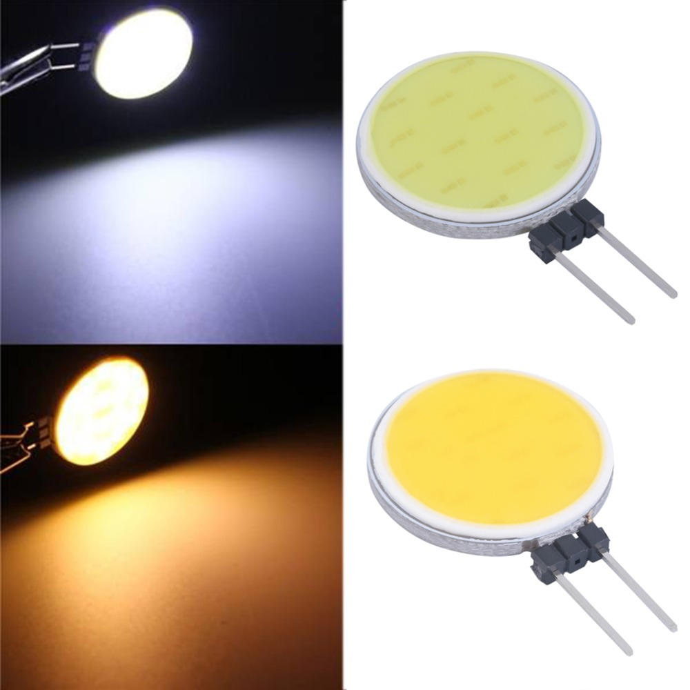 1Pcs G4 4W 15COB LED Warm White/White For Crystal Lamp LED Spotlight Light Bulb Hot Selling