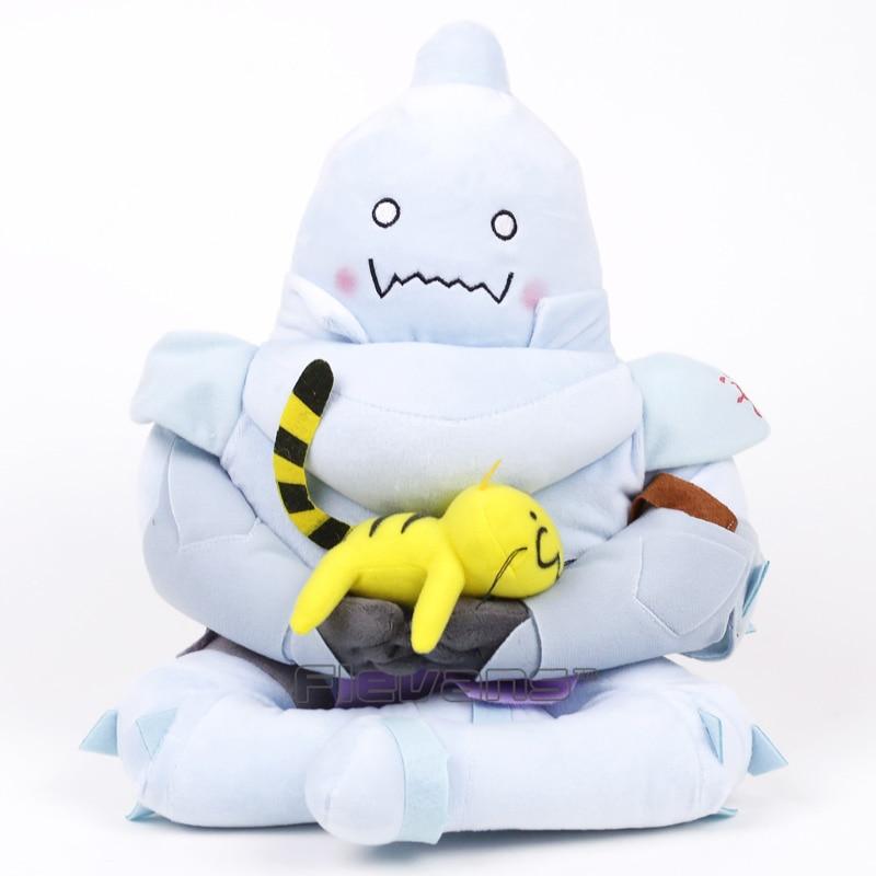Anime Fullmetal Alchemist Alphonse Elric Plush Toy Soft Stuffed Doll 12inch 30cm