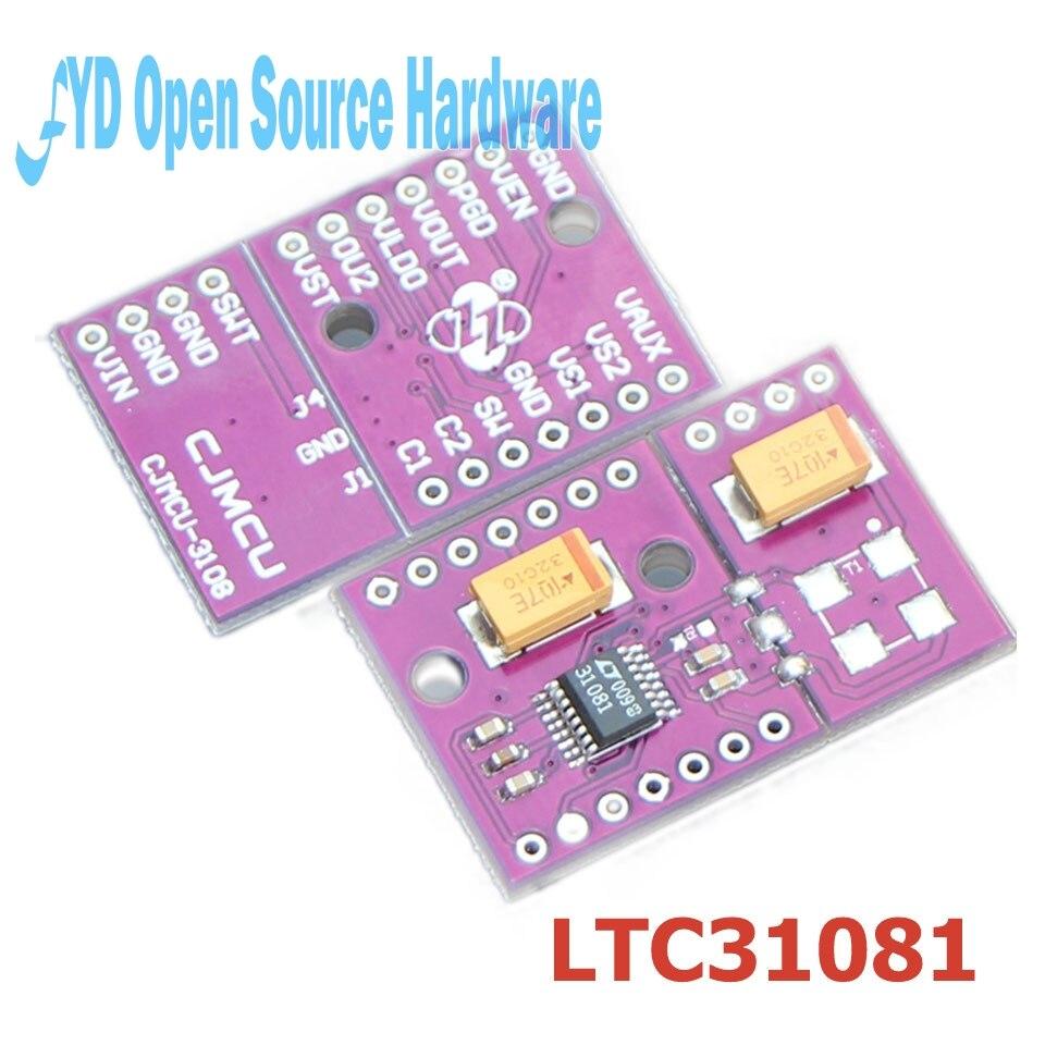 1pcs CJMCU-3108 LTC3108 -1 ultra low voltage boost converter power manager development board